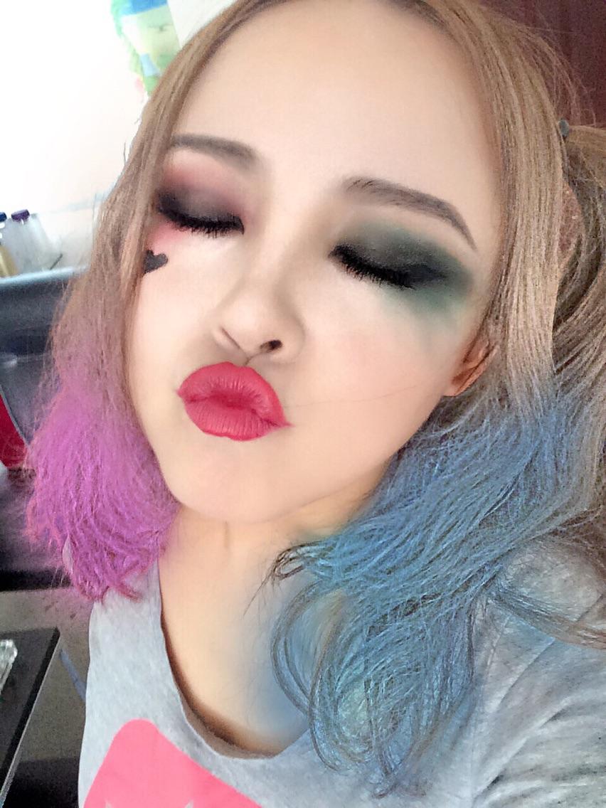 次元妆大战|优雅的暴力小丑女仿妆