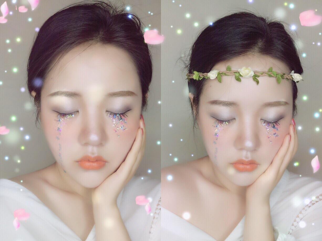 次元妆大战|人鱼公主爱丽儿的眼泪