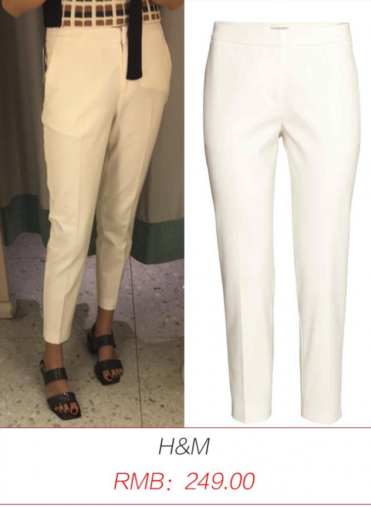 橘子君亲测|这四种类型的白裤子,哪家店的性价比最高?