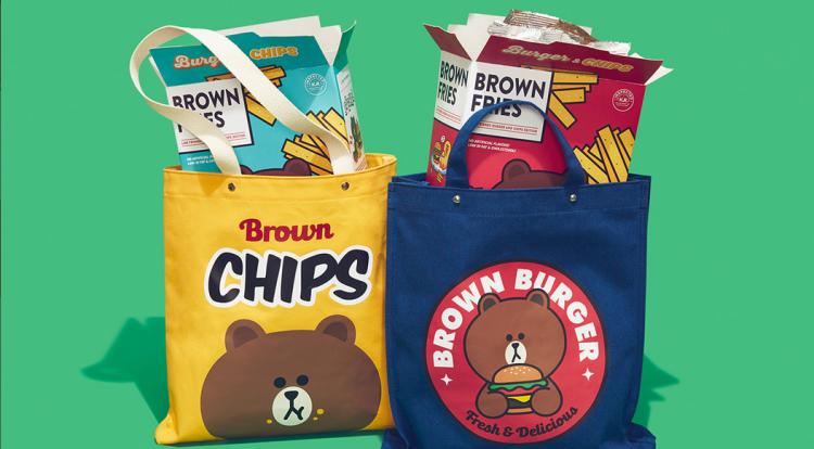 【买买买】布朗熊又出新单品,这枚吃货比平时更萌呢!