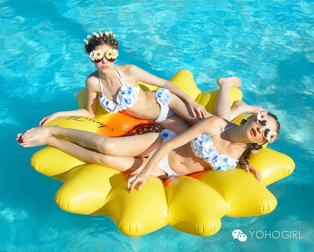 有趣成这样的它们,真的是泳衣嘛?