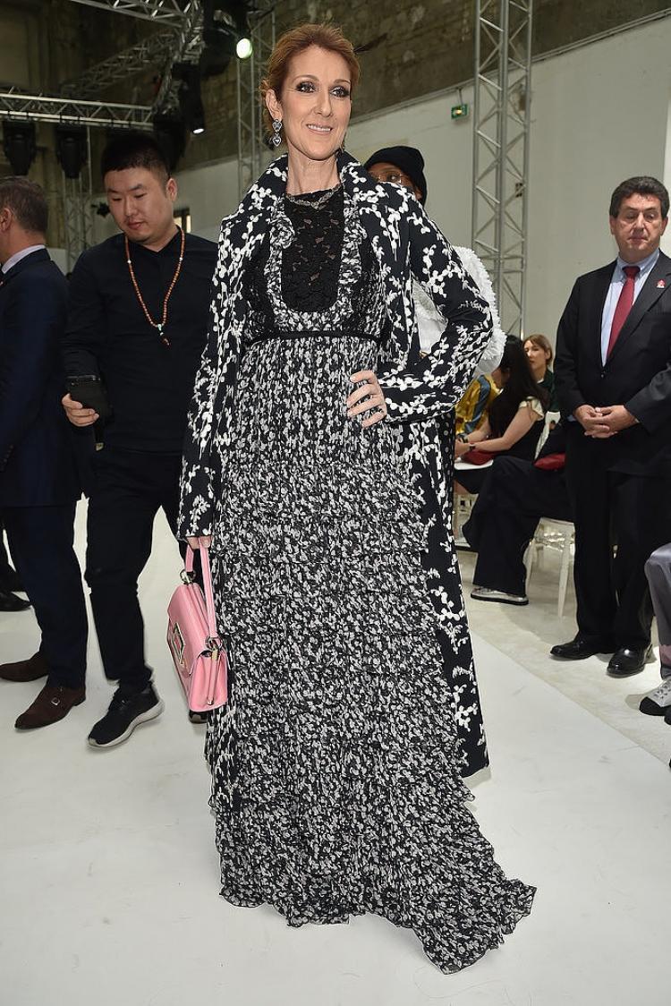 48岁真女神|席琳迪翁在巴黎高定周上美出惊叹号!