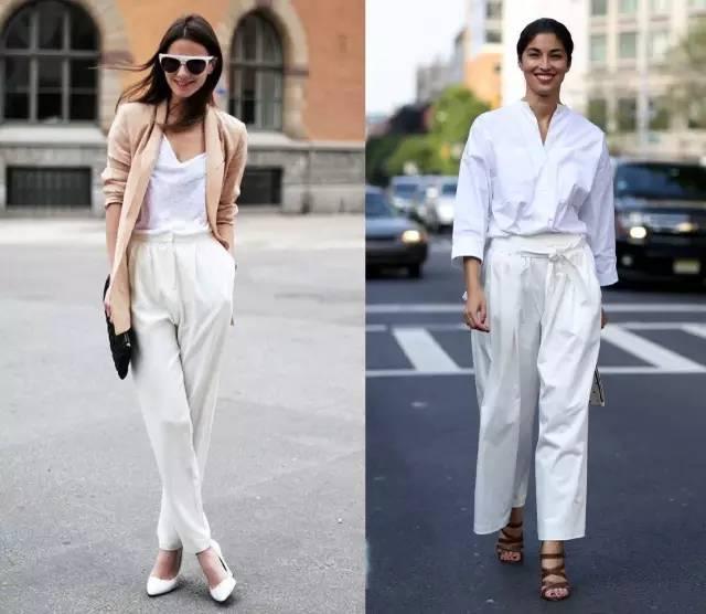 其实,我们一直都对白裤子有误解!