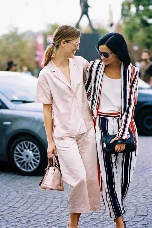 全世界的女人都穿睡衣上街,时髦到前男友们都后悔!!!