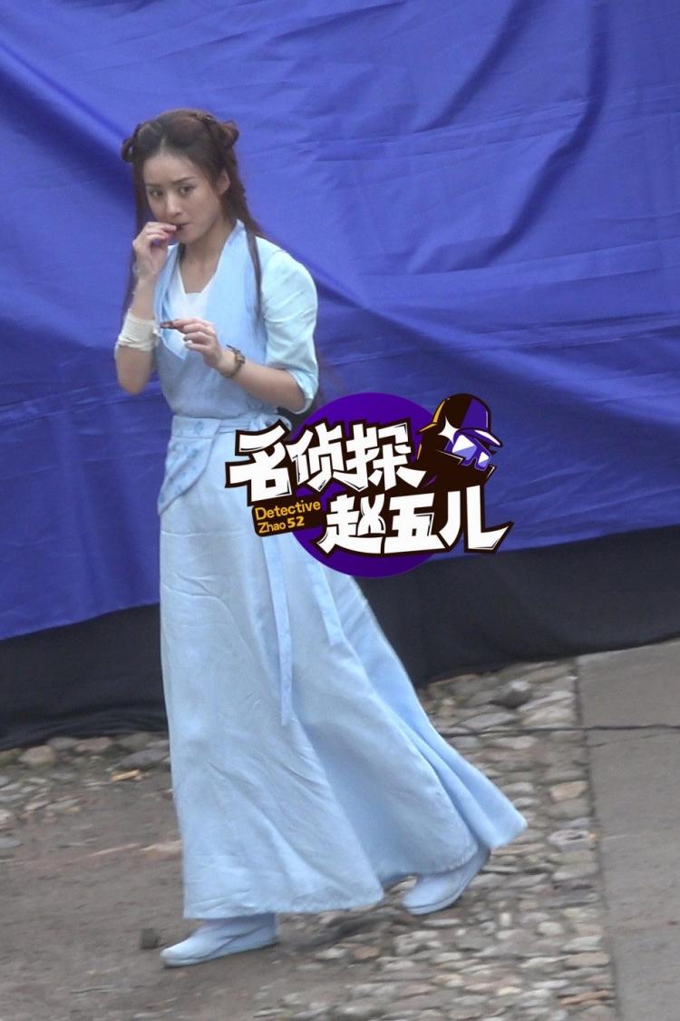《老九门》赵丽颖一出场,吃了6分钟、花痴6分钟...