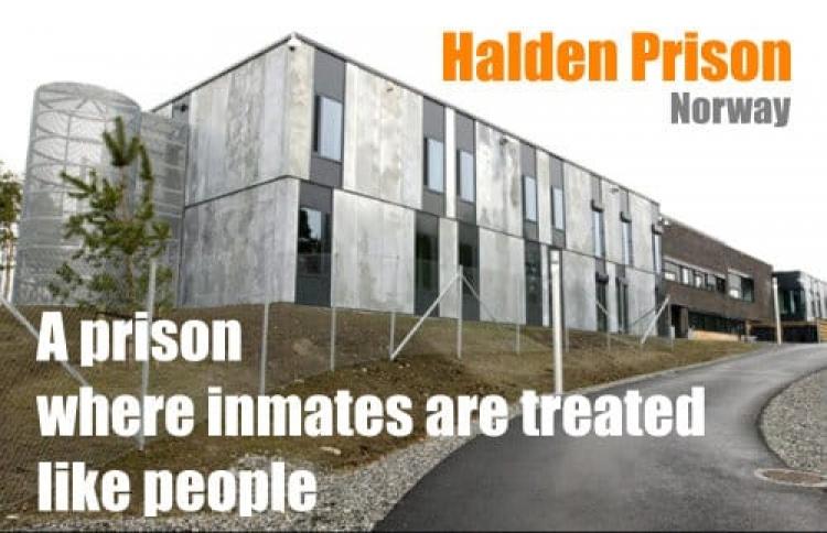 挪威8星级监狱:耗资300亿,教堂图书馆应有尽有!