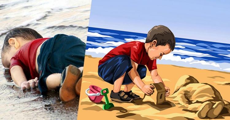讽刺现实丑陋的插画,你看懂了几个?