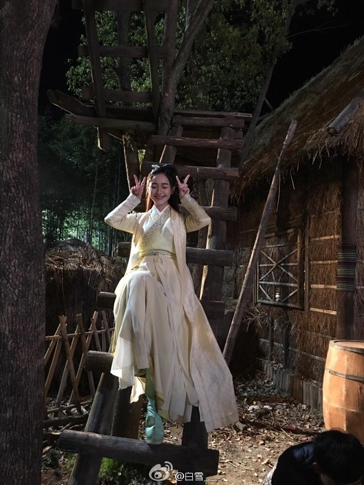 神似周迅、出演《青云志》,扒扒张一山小女友白雪