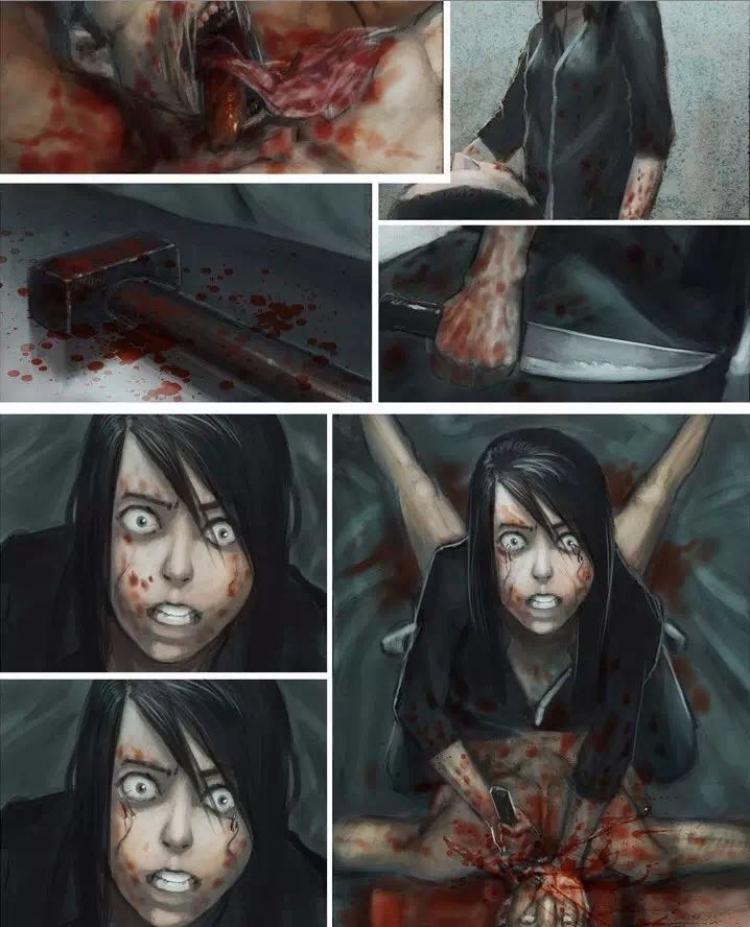 【深夜毒物】画风超恐:不要怕,妈妈会给你报仇的
