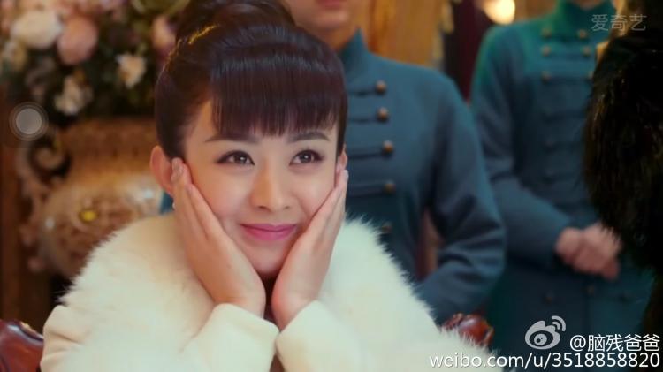 《老九门》赵丽颖眼妆美到会说话怪不得能迷倒佛爷