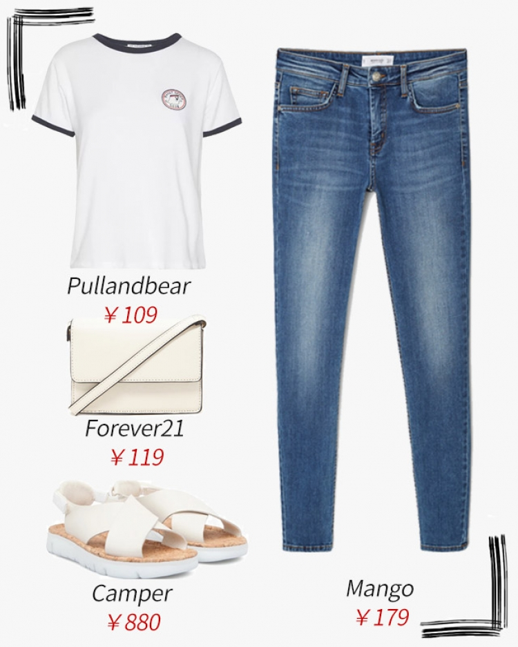 【今天穿啥】我的天!白T恤还能穿出什么花哨?!