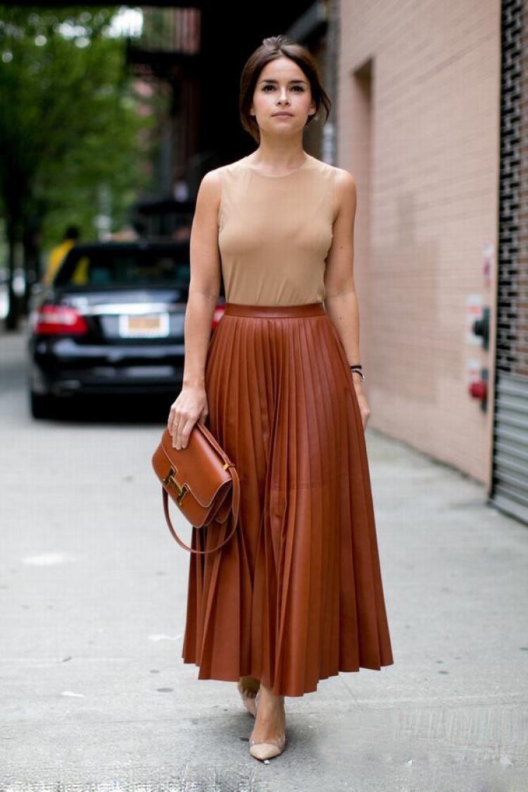 【穿衣MorningCall】百褶裙搭得好,风度温度两不误不说,还能顺带撩汉!