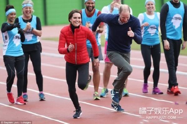 【明星同款】凯特王妃与威廉王子参加马拉松试