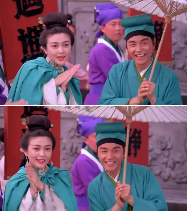包括《新仙鹤神针》中饰演的蓝小蝶
