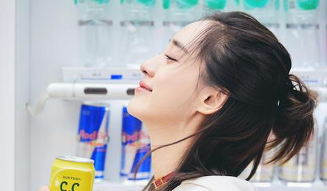 王智街拍超养眼 笑容清新青春洋溢