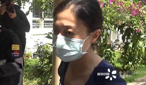 传小龙女因自杀入院 吴绮莉憔悴现身医院看望
