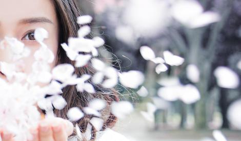 Angelababy教你如何在樱花季拍照最美
