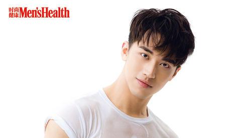 许魏洲登《男士健康》周年刊封面  英俊少年荷尔蒙爆棚