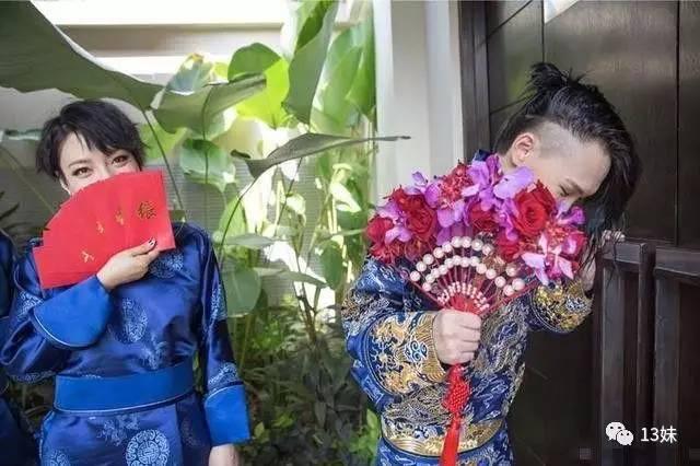 好声音学员张玮巴厘岛结婚了