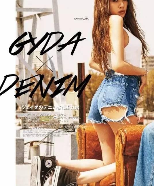 牛仔热裤的女孩性感又可爱,总是忍不住多看几眼!