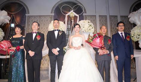 杨子姗吴中天甜蜜大婚 女神嫁人了