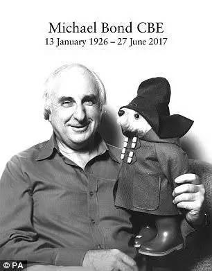 帕丁顿熊作者去世,这只秘鲁小熊温暖了一代代英国人的心...RIP -f02fb82a-a954-44e4-b358-286dda61b3bd.jpeg!ac1