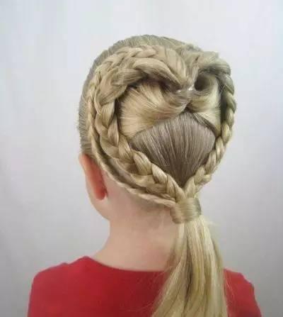 几款儿童长发编发发型,总有一款适合您的孩子!