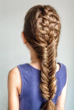 儿童编发|鱼骨辫各种编法,波西米亚风,升级版鱼骨辫.