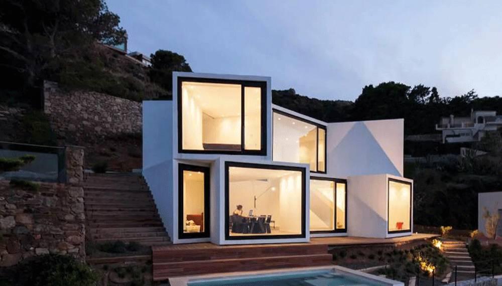 八间房屋设计图