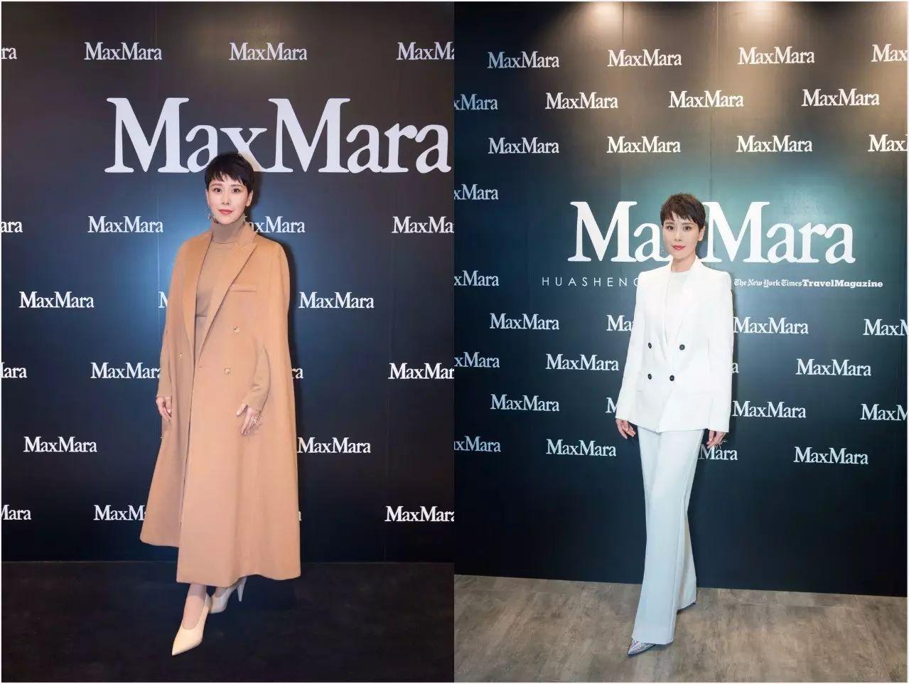 """女友力Max的唐晶和安迪,都是MaxMara大衣的""""超级迷妹""""!"""