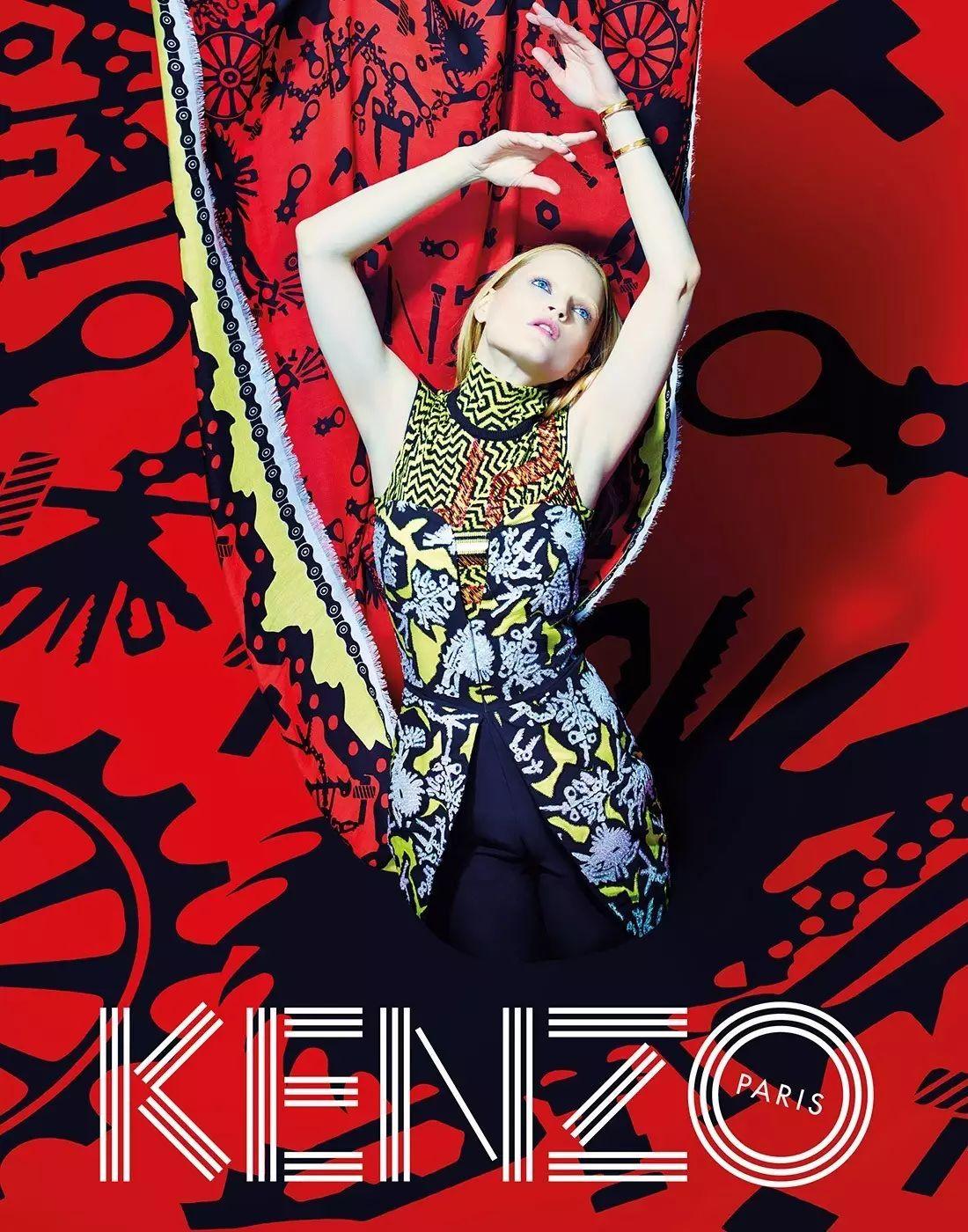 火遍全宇宙的Kenzo虎头强势回归!这一次,是对Kenzo最长情的诠释