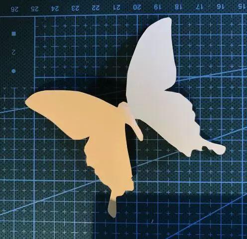牙签蝴蝶手工制作