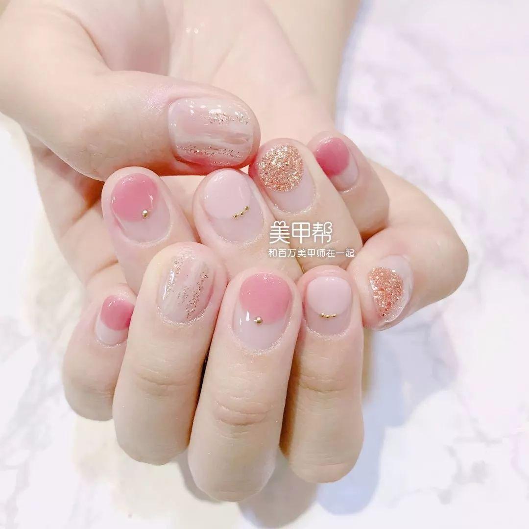最适合短指甲的三种美甲款式!