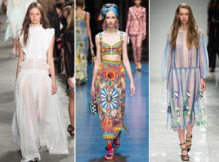 时装周上最美的20条裙子!你最喜欢哪条?!