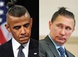 普京有头发了!各国领导人都梳上丸子头,画面太醉人