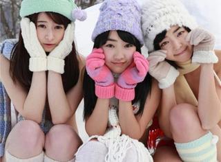 日本女星穿比基尼打雪仗,你们真的不冷吗?