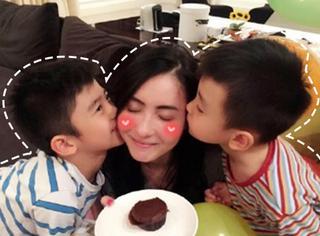 张柏芝:即使再多争议,也不妨碍她成为一个伟大的妈妈!