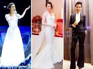 本周女星穿衣榜 | 小骨的仙,刘涛的俊,杏儿的嫁纱美到无暇!