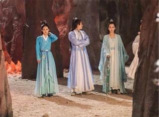 《诛仙》李易峰、赵丽颖、杨紫同框照来了,最美的竟然是ta?