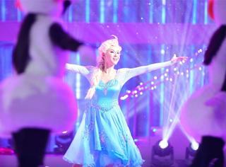 张柏芝化身冰雪女王,经历这么多,看你还是这么有活力我就放心了