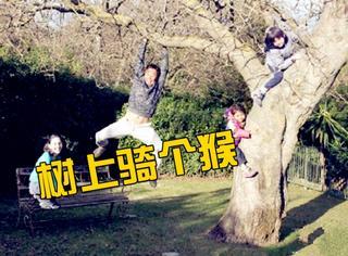诺一霓娜成窜天猴?刘烨你看邓超贾乃亮陆毅是怎么拍全家福的!
