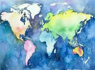 看这个水彩地图,你能猜出这是中国的哪个地方么?