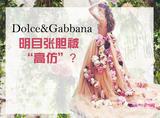 这才是实力粉丝,山寨了Dolce&Gabbana的裙子还被设计师po文点赞