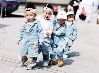 首尔用这些萌娃完爆了四大时装周!