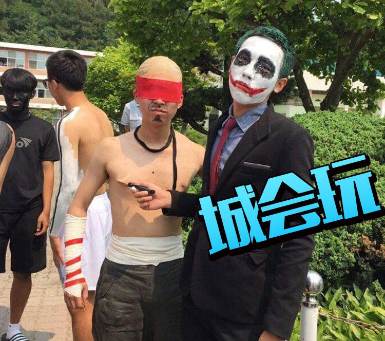 金正恩、BIGBANG、小丑,韩国人毕业照真会玩