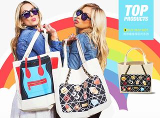 【买买买】100多块钱的帆布款大牌包,现在可最时髦!
