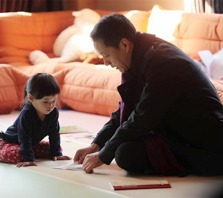童年阴影系列,冯远征探望梅婷女儿,我好方,都怪演技太好
