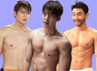 韩剧欧巴一言不合就洗澡,有颜还不够必要湿身才过瘾