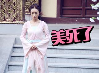 《楚乔传》路透照中的赵丽颖可美了,就是手里一直都握着它...