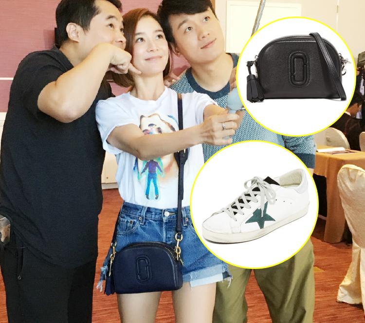 怎么办,袁姗姗的相机包和小脏鞋我都想买!